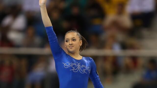 Larisa Iordache a cucerit medalia de aur la Cupa Mondiala de la Glasgow la gimnastica