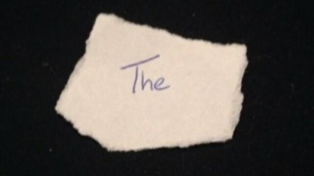 Cum a ajuns un cuvant din trei litere, scris pe un bilet, sa valoreze 10.000 de dolari la o licitatie