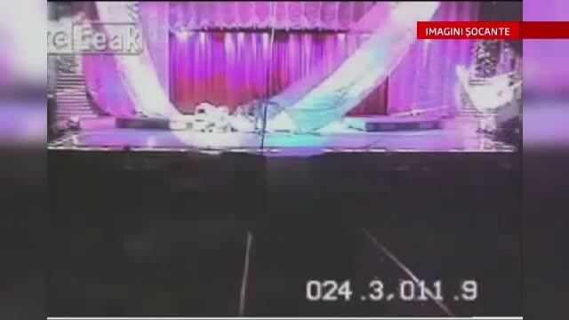 Imagini socante. Angajatul unui circ din Brazilia a murit, dupa ce a cazut de la 10 metri inaltime