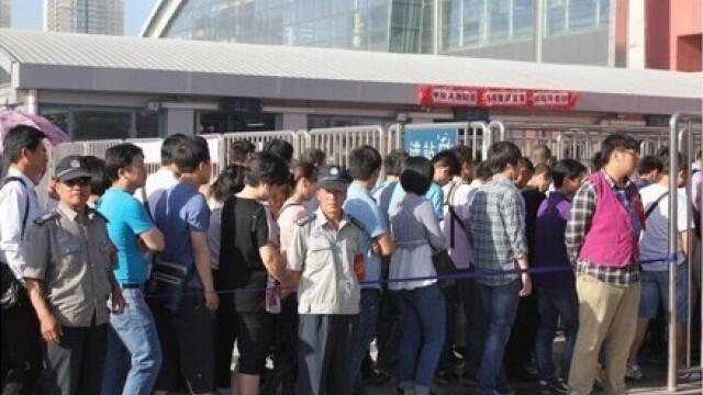 Chinezii au realizat cea mai lunga coada din lume. Ce se intampla la metroul din Beijing in ultimele zile - Imaginea 5