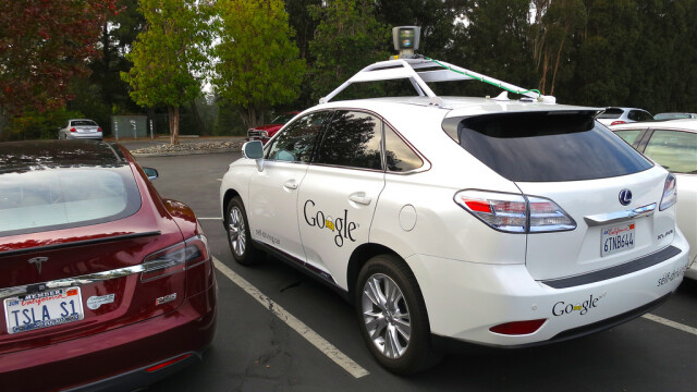 masina robot de la Google