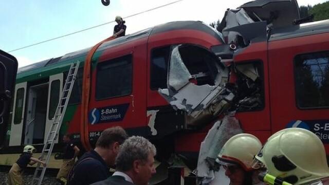 accident feroviar Austria