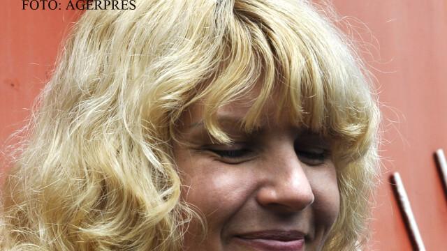 Elena Udrea la eliberarea din penitencierul Targsor