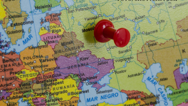 harta Rusia in estul Europei FOTO: SHUTTERSTOCK