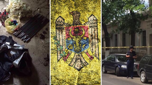 Doua depozite de armament, descoperite de politie in centrul Chisinaului. Ar putea fi ale JIHADISTILOR sau ale agentilor RUSI - Imaginea 1