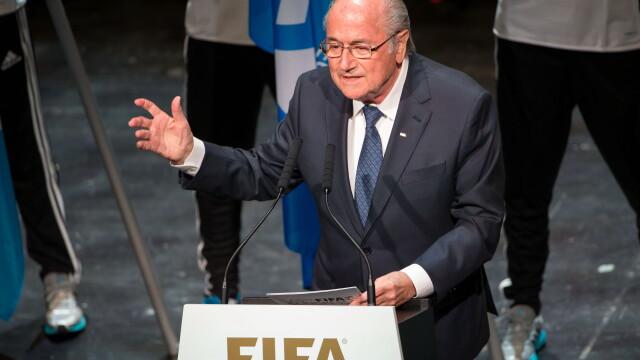 Sepp Blatter ramane presedinte al FIFA, dupa retragerea lui Ali Bin Al-Hussein. Primele declaratii ale celor doi - Imaginea 1