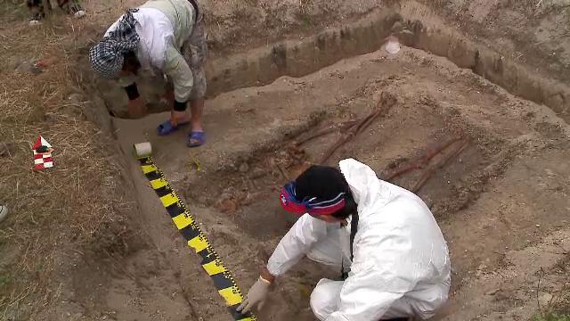 Arheologii cauta mormintele detinutilor politici de la Periprava. Peste 100 de oameni au murit aici de foame, sete sau frig