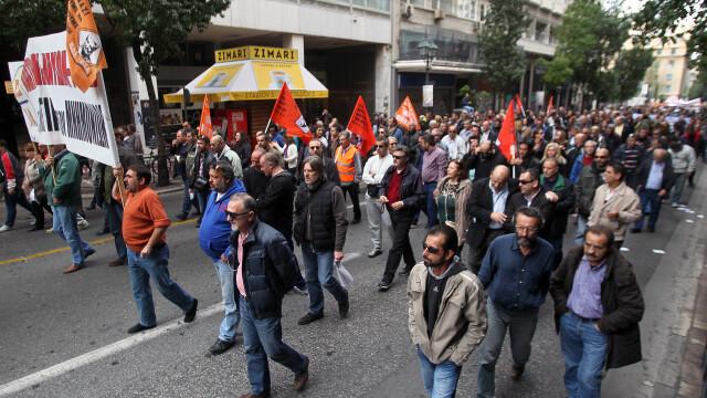 15.000 de oameni au iesit in strada in Grecia, in cele mai mari orase din tara. Pentru ce protesteaza grecii - Imaginea 2