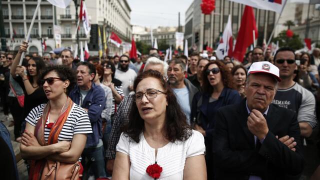 15.000 de oameni au iesit in strada in Grecia, in cele mai mari orase din tara. Pentru ce protesteaza grecii - Imaginea 6
