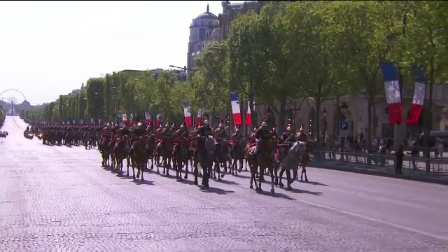 parada Champs Elysees