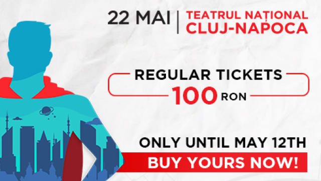 """TEDxEroilor – """"Future: Loading..."""". Ultima zi pentru cumpararea biletelor la 100 RON!"""