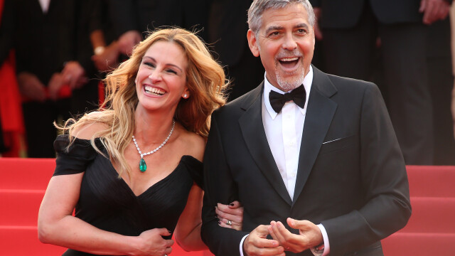 Julia Roberts, George Clooney, Amal Clooney, Cannes
