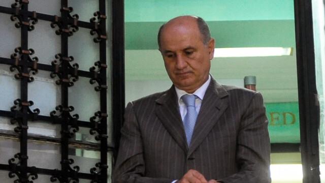 Gheorghe Copos pleaca de la sediul Inaltei Curti de Casatie si Justitie (ICCJ), dupa ce s-a terminat sedinta de judecata in dosarul privind transferurile de jucatori