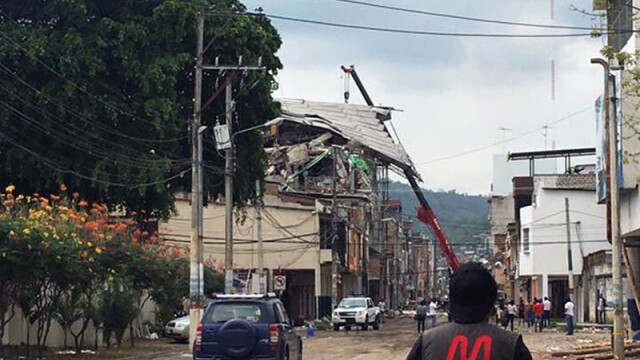 cutremur Ecuador in provincia Manabi