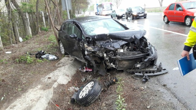 Judecatoarea mituita de Borcea si fratii Becali a suferit un accident grav. Geanina Terceanu a fost dusa la spital