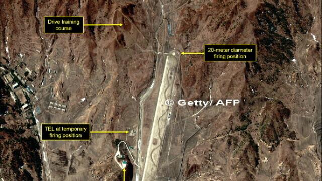 Coreea de Nord, test nuclear, satelit