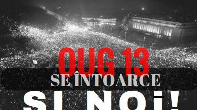 1.000 de persoane au protestat la Guvern, dupa ce senatorii au decis gratierea coruptilor. Circulatia a fost blocata. VIDEO - Imaginea 1