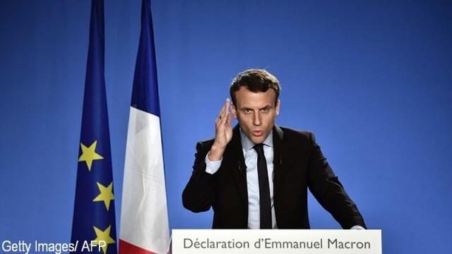 Emmanuel Macron l-a anuntat pe Trump ca va apara Acordul de la Paris, privind combaterea schimbarii climatice
