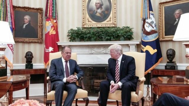 Donald Trump si Serghei Lavrov