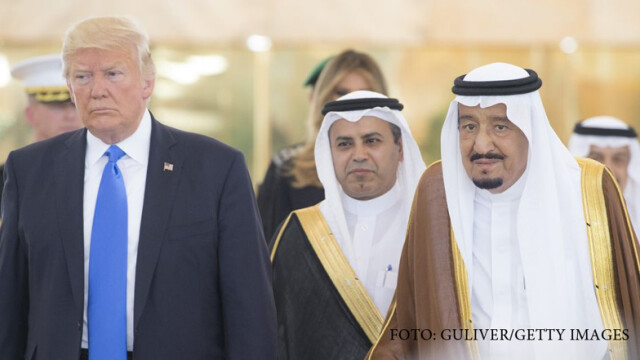 Donald Trump in vizita in Arabia Saudita