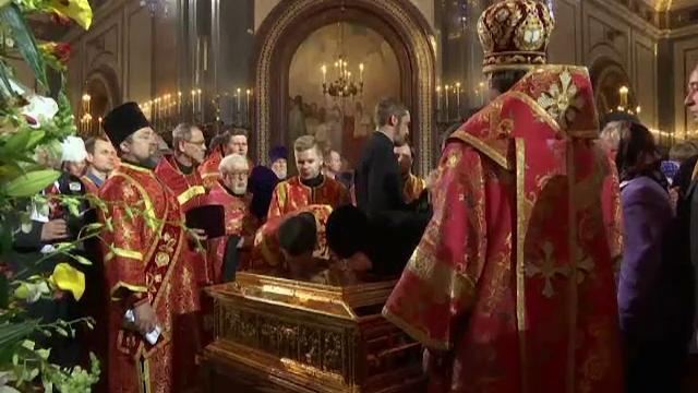 Moastele Sfantului Nicolae in Moscova