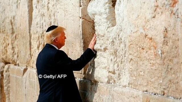 Donal Trump, Zidul Plangerii - Getty/ AFP