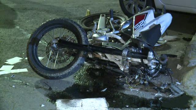 Motociclist in varsta de 18 ani, in stare grava dupa ce a fost izbit de o soferita in Capitala