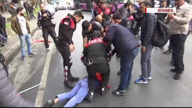 Ciocniri sângeroase într-un oraș din Turcia. 19 persoane, arestate