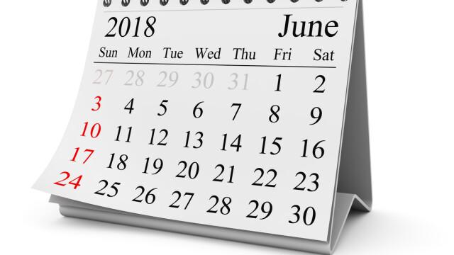 1 iunie 2018