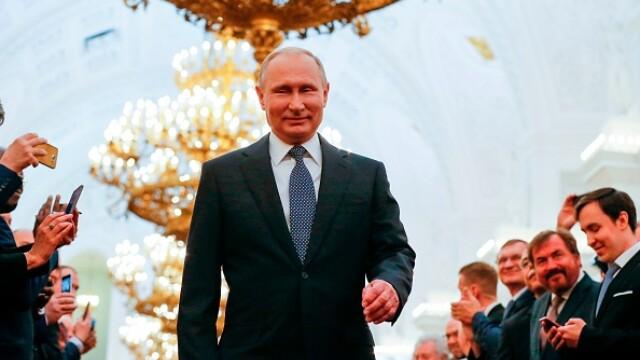 Vladimir Putin a depus jurământul pentru cel de-al patrulea mandat de președinte