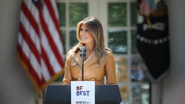 Melania Trump nu-l va însoți pe președintele SUA în vizitele sale internaționale din iunie