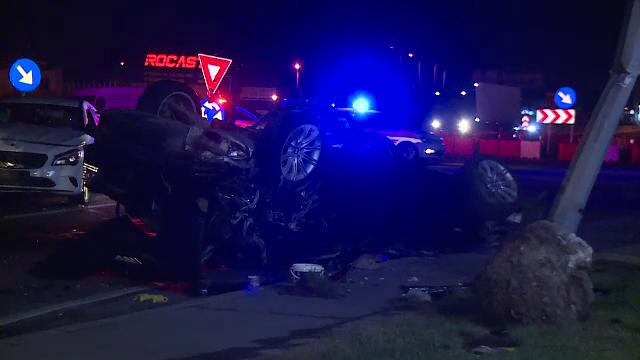Șofer căutat de poliție, după ce a provocat un accident și a fugit de la locul faptei