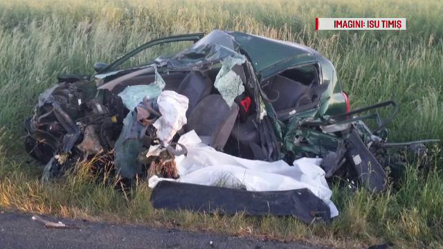 Accidente în serie pe şoselele din țară, soldate cu un mort și 12 răniți în Timiș și Olt
