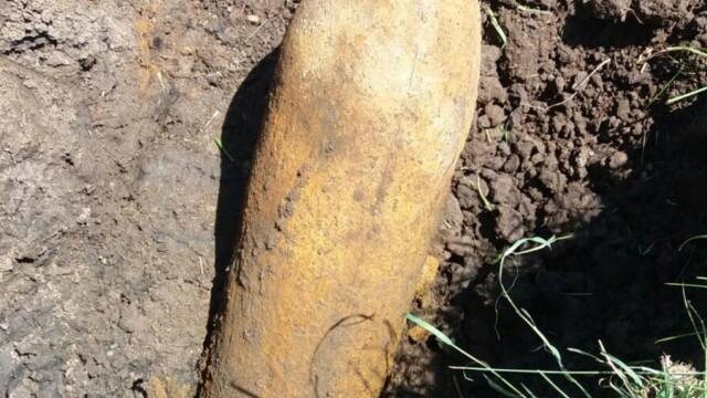 Un bărbat a găsit o bombă de 150 de kg, neexplodată, la groapa de gunoi din Sibiu