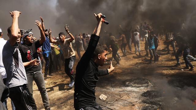 Israelul, apărat doar de SUA după uciderea a 58 de palestinieni în Gaza