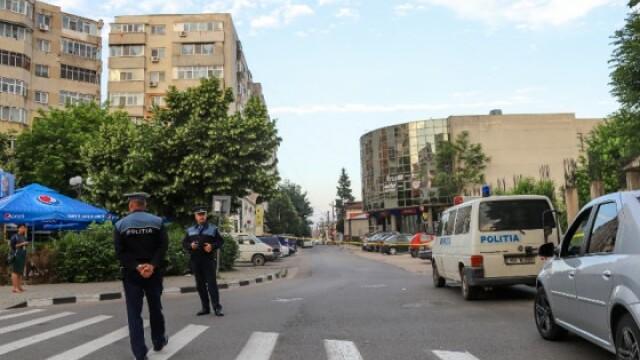 Femeie cercetată după ce a dat o alarmă falsă cu bombă la o bancă, în Giurgiu