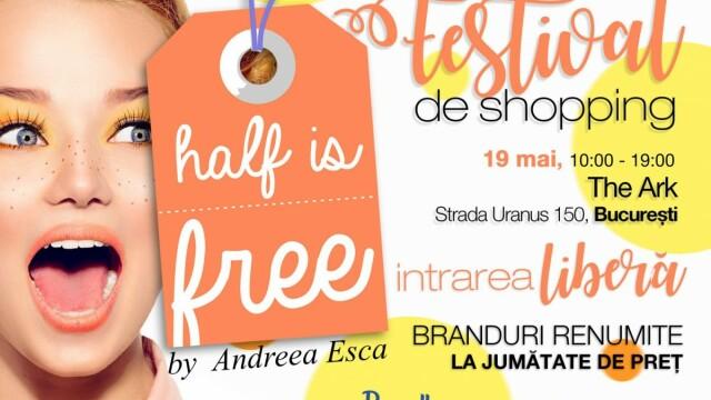 Ce designeri români și ce branduri vin sâmbătă, 19 mai, la târgul Half Is Free