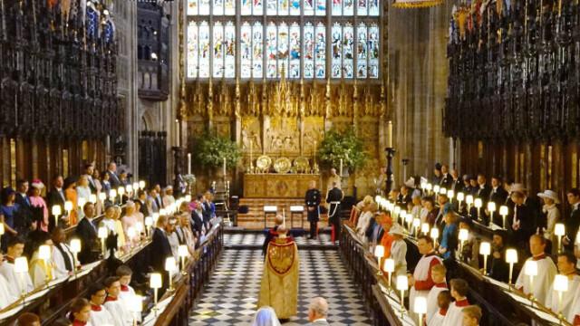 Invitații de pe peluza castelului Windsor au comandat mii de pizza, în timpul recepției regale