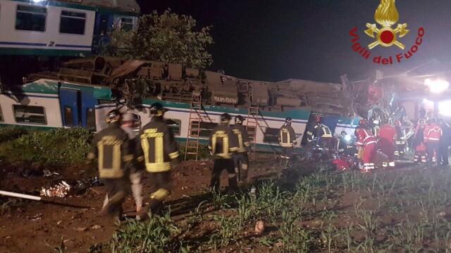 accident tren Torino