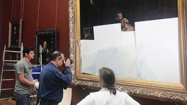tablou distrus galeria tretiakov