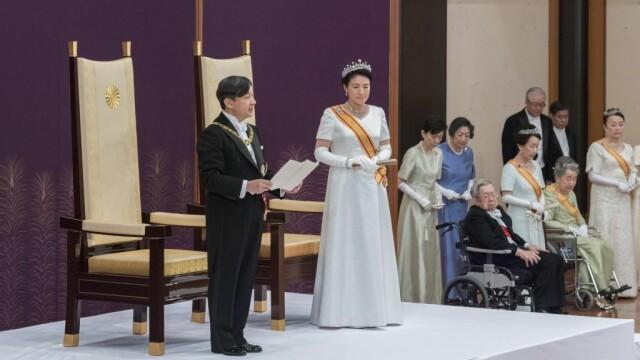Japonia are de astăzi un nou împărat. Naruhito a preluat Tronul Crizantemei