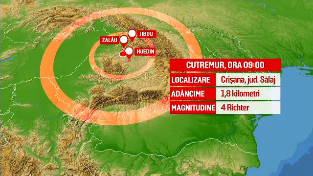 Seismologii au explicat care a fost cauza cutremurului din Sălaj: \