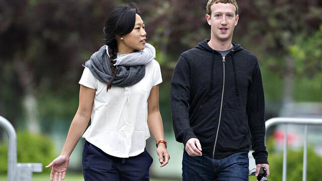 Mark Zuckerberg si sotia sa, Priscilla Chan