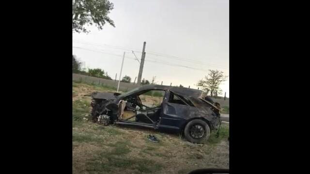 Șofer mort într-un accident cumplit în Tunari. Ce ar fi făcut în momentul impactului - Imaginea 1