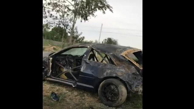 Șofer mort într-un accident cumplit în Tunari. Ce ar fi făcut în momentul impactului - Imaginea 8