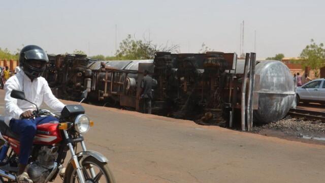 O cisternă cu petrol a explodat în Niger