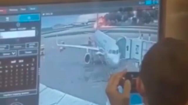 rusia, avion, foc, rusia, glume, oficiali,