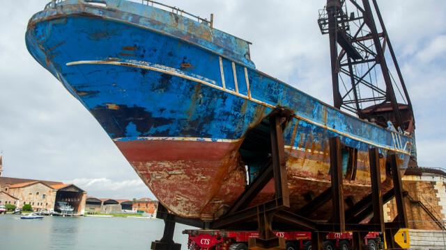 Barca pe care au murit sute de oameni. Descoperirea făcută în interiorul epavei - Imaginea 1