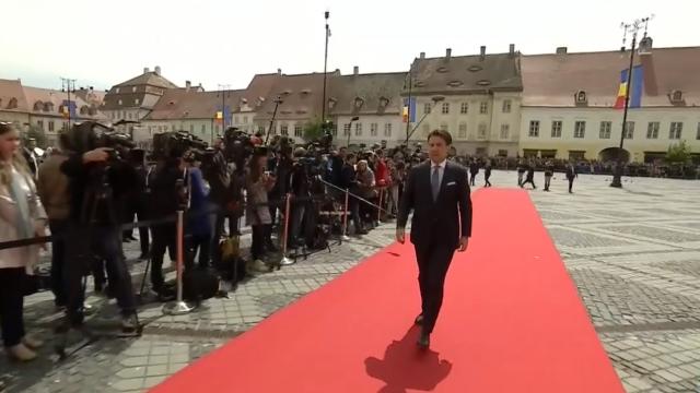 Mesajul lui Klaus Iohannis la finalul Summitului de la Sibiu. Momentele cheie ale zilei - Imaginea 9