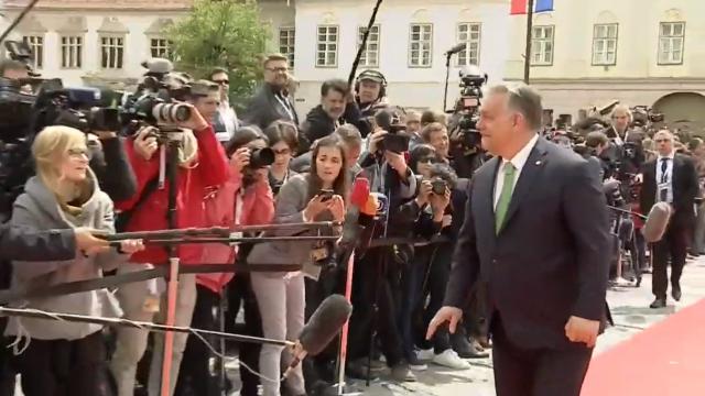 Mesajul lui Klaus Iohannis la finalul Summitului de la Sibiu. Momentele cheie ale zilei - Imaginea 12